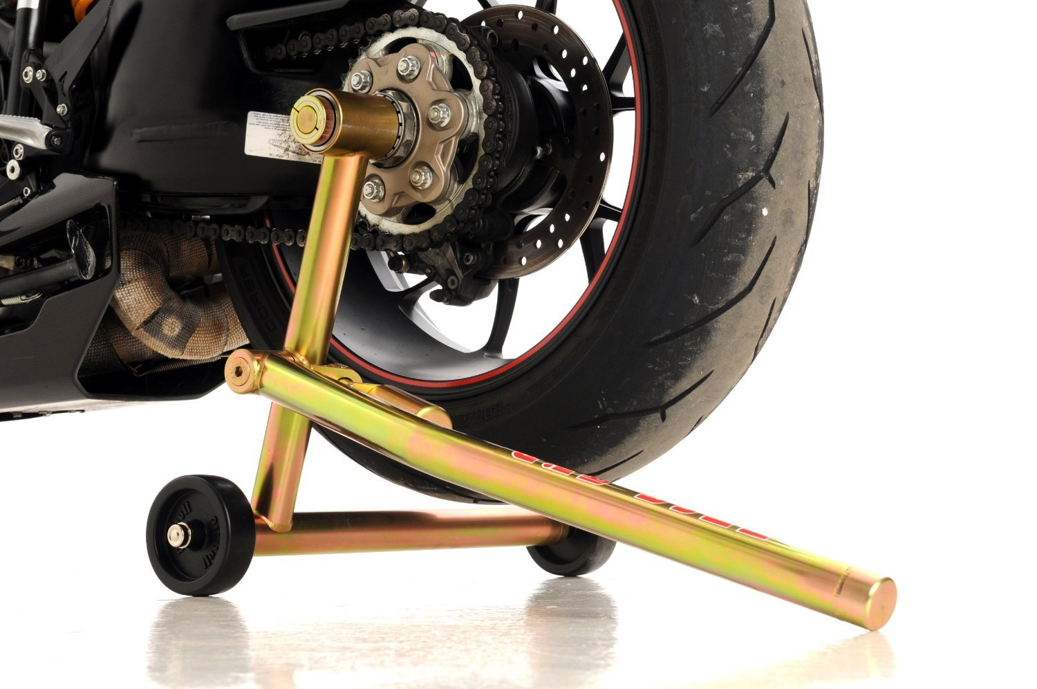 Pit Bull Hybrid One Armed Rear Stand, Ducati 1098/1198/1199/1299, Supersport S, Diavel, Multistrada 1200 (w/ pins for both sides of the bike). Single ...
