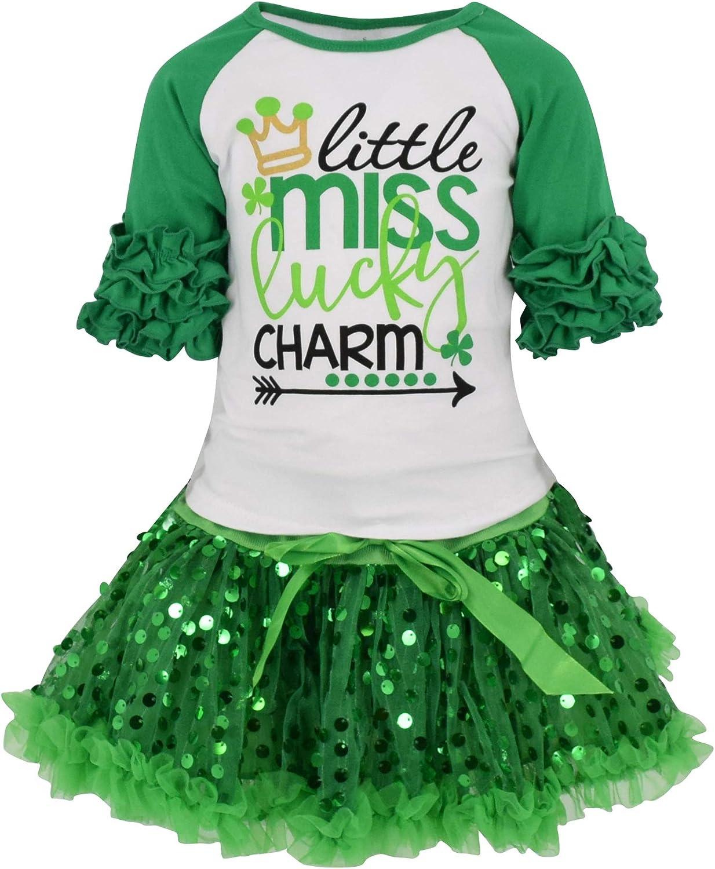 Patrick\u2019s Green Shamrock Lucky Charm Clover Hair Alligator Clip Easter Spring Summer Girls Toddler Baby Bow Gift St