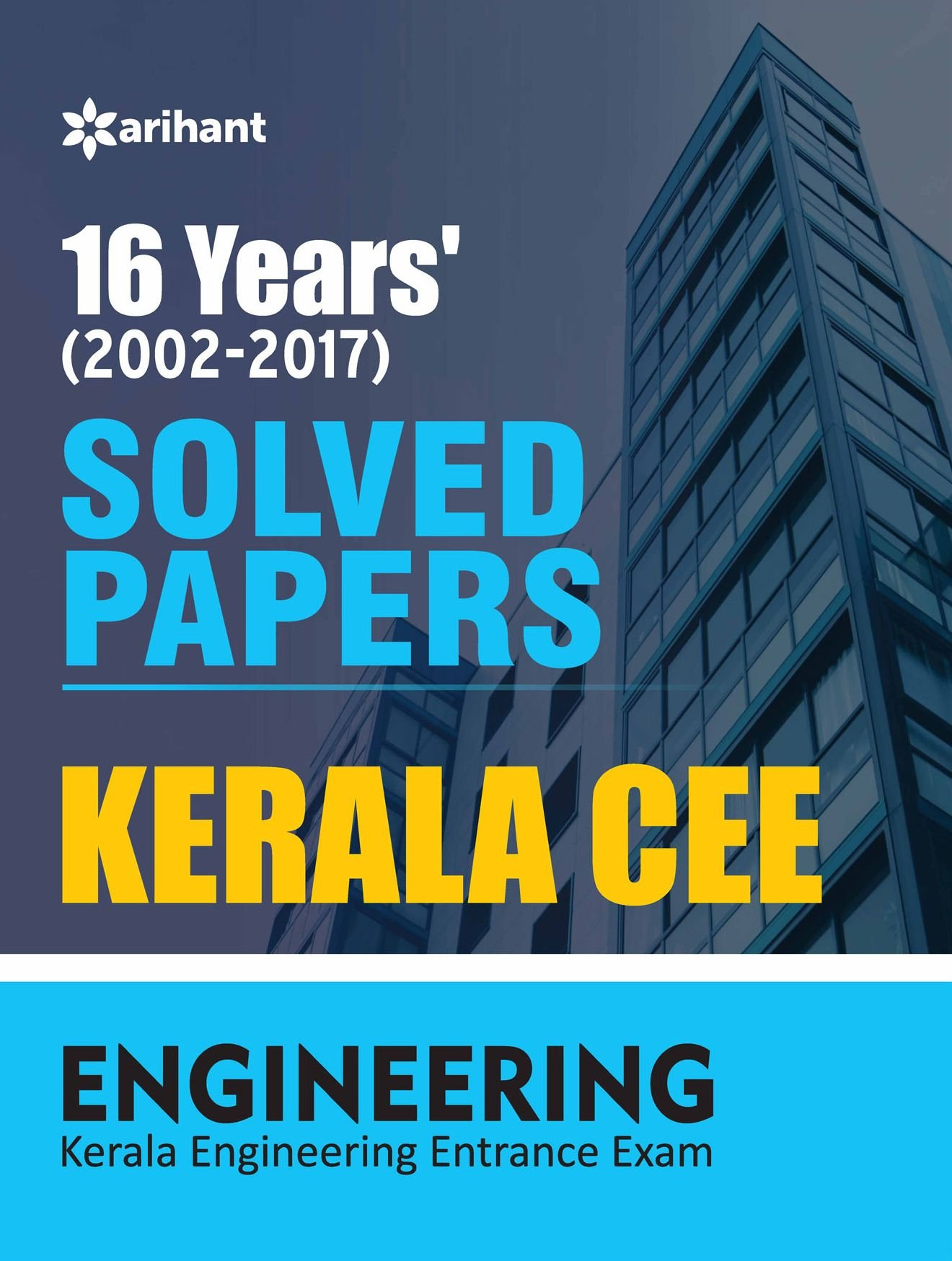 Buy 16 Year's Solved Papers Kerala CEE Engineering Entrance