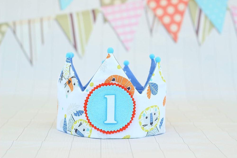 Corona cumpleaños niños regalo primer cumpleaños bebé corona ...