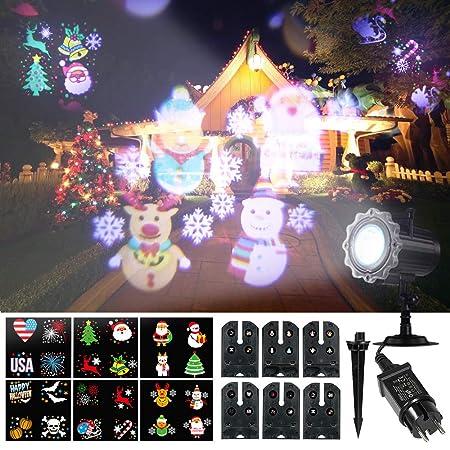 Weehey Proyector de Luz Animado Proyector de LED Proyector ...