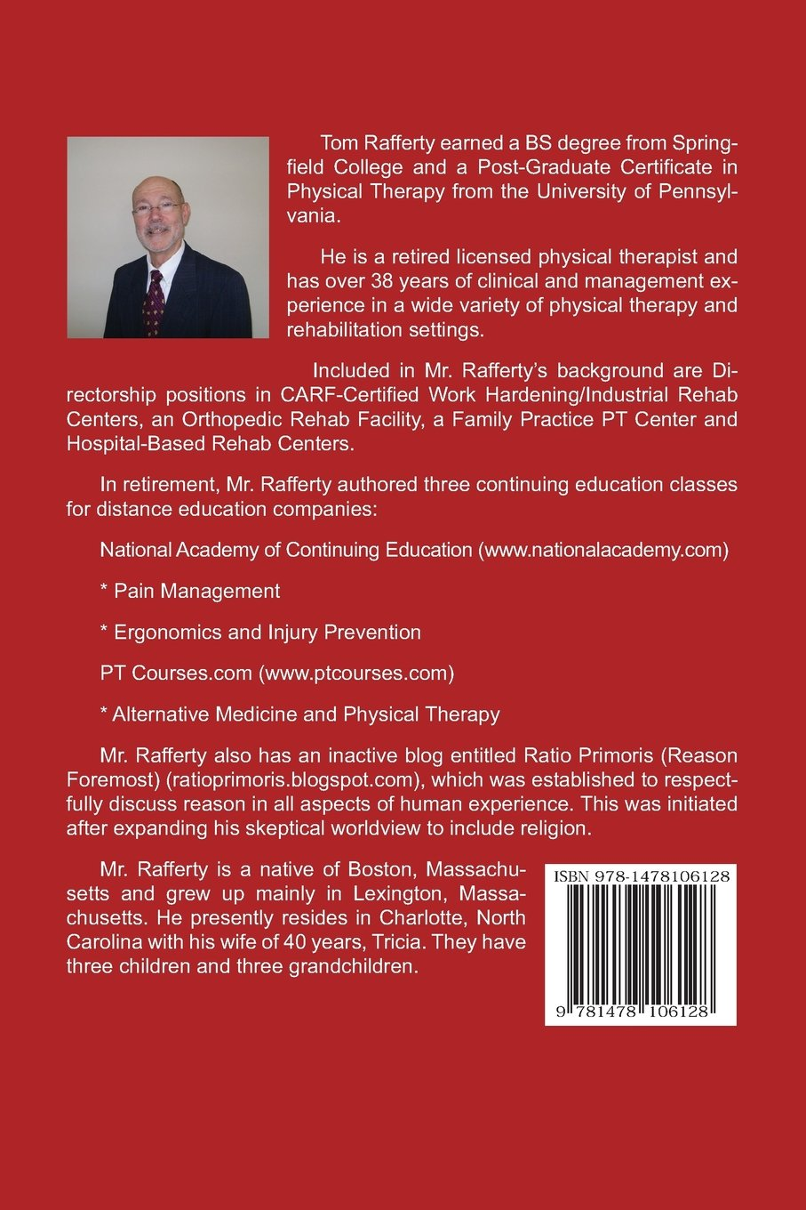 Distance education physical therapy - Making Stuff Up Is Unwise An Introduction To Reason Skepticism And Science Tom Rafferty 9781478106128 Amazon Com Books