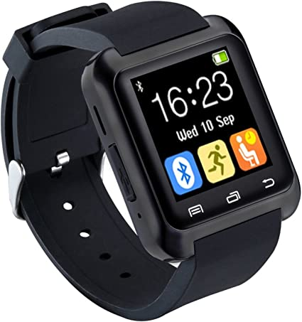 CHEREEKI Bluetooth Smartwatch Reloj deportivo Smart Fitness ...