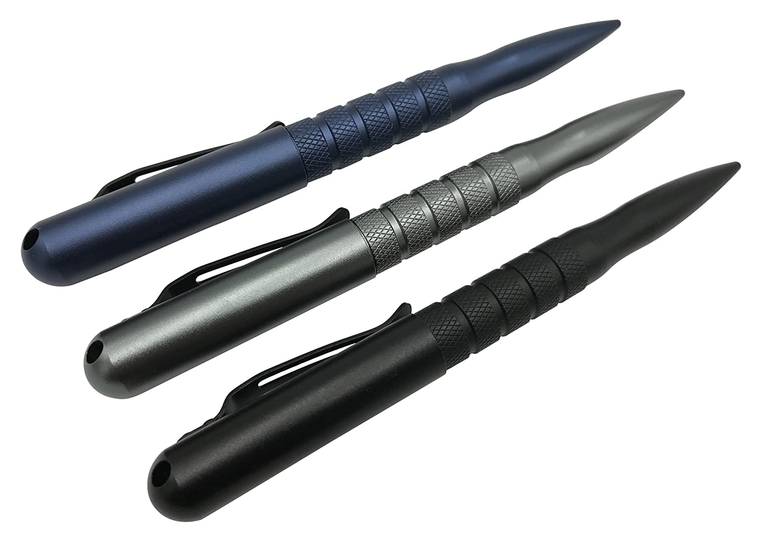 Best Design for Quick Protective Use and Travel for Men and Women Practical Tactical Pen The Premium Discrete High-Strength Self Defense EDC Survival Tool with Pen 2 Inks 3 Colors