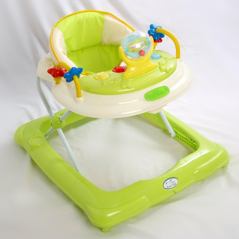 Andador para bebé, diseño estrella verde. Andador de actividades o tacatá TORAL BEBE SL