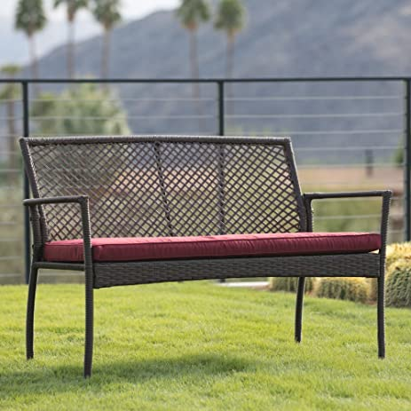 amazon com modern outdoor bench with water uv and fade