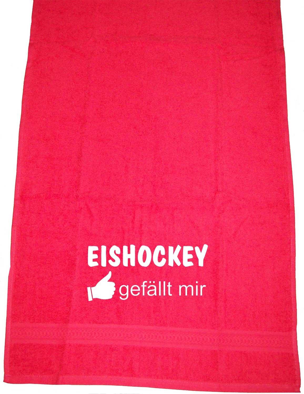 ShirtShop-Saar Eishockey gef/ällt Mir; Handtuch
