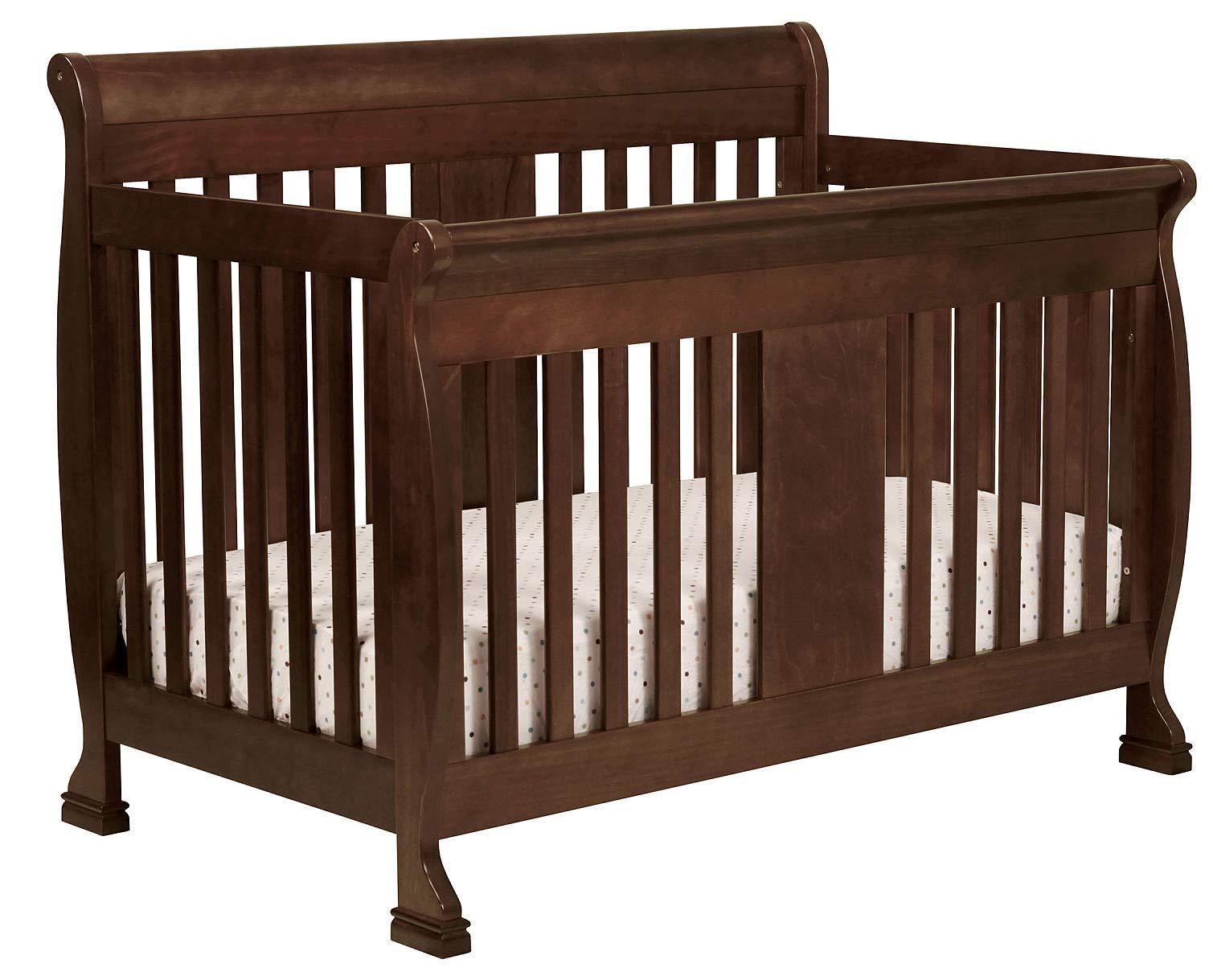 Full Size Conversion Kit Bed Rails for Davinci Porter 4-in-1 Crib - Espresso by CC KITS