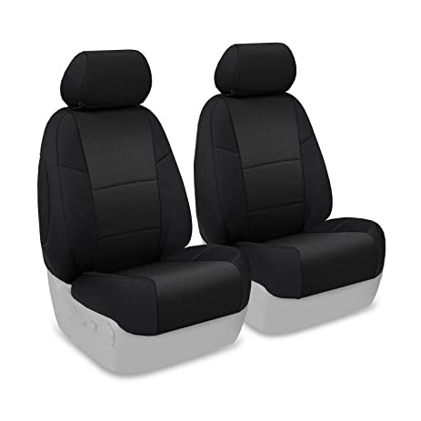 Coverking Custom Fit Front 50 Bucket Seat Cover For Select Hyundai Elantra Models