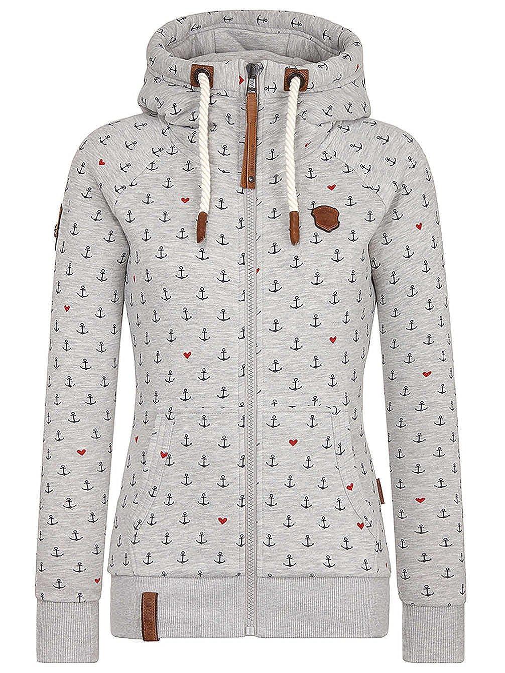 Naketano Female Zipped Jacket Der Internet weiß Alles