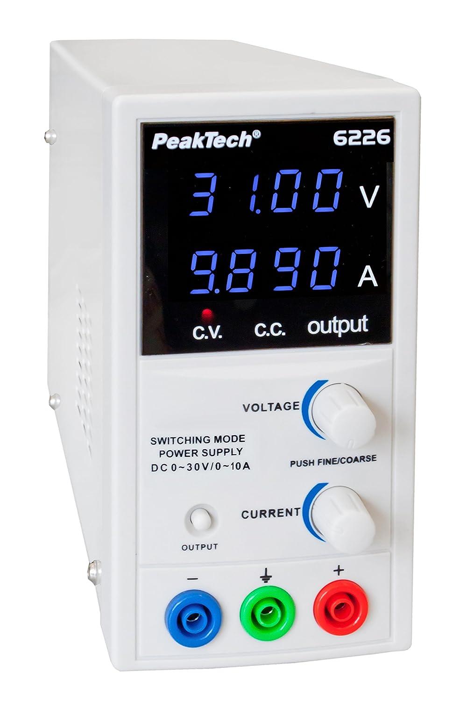 PeakTech P 6226/Appareil dalimentation de laboratoire 0 30/V//10/A DC