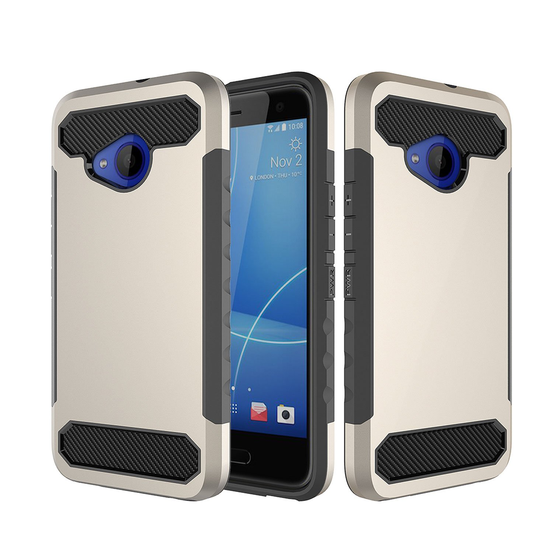 Amazon.com: HTC U11 Life Case,VVIA TPU + PC Shock Absorption Bumper ...