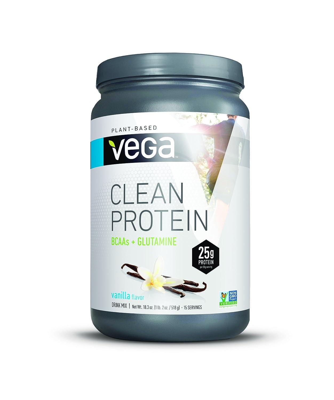 Vega Clean Protein Powder, Vanilla, 18.3oz