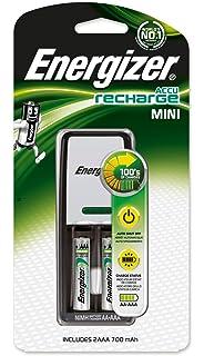 Energizer - cargador de pilas mini compatible aa y aaa ...