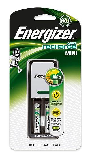 Energizer 635036/638584 - Mini cargador de pilas AAA + 2 AAA