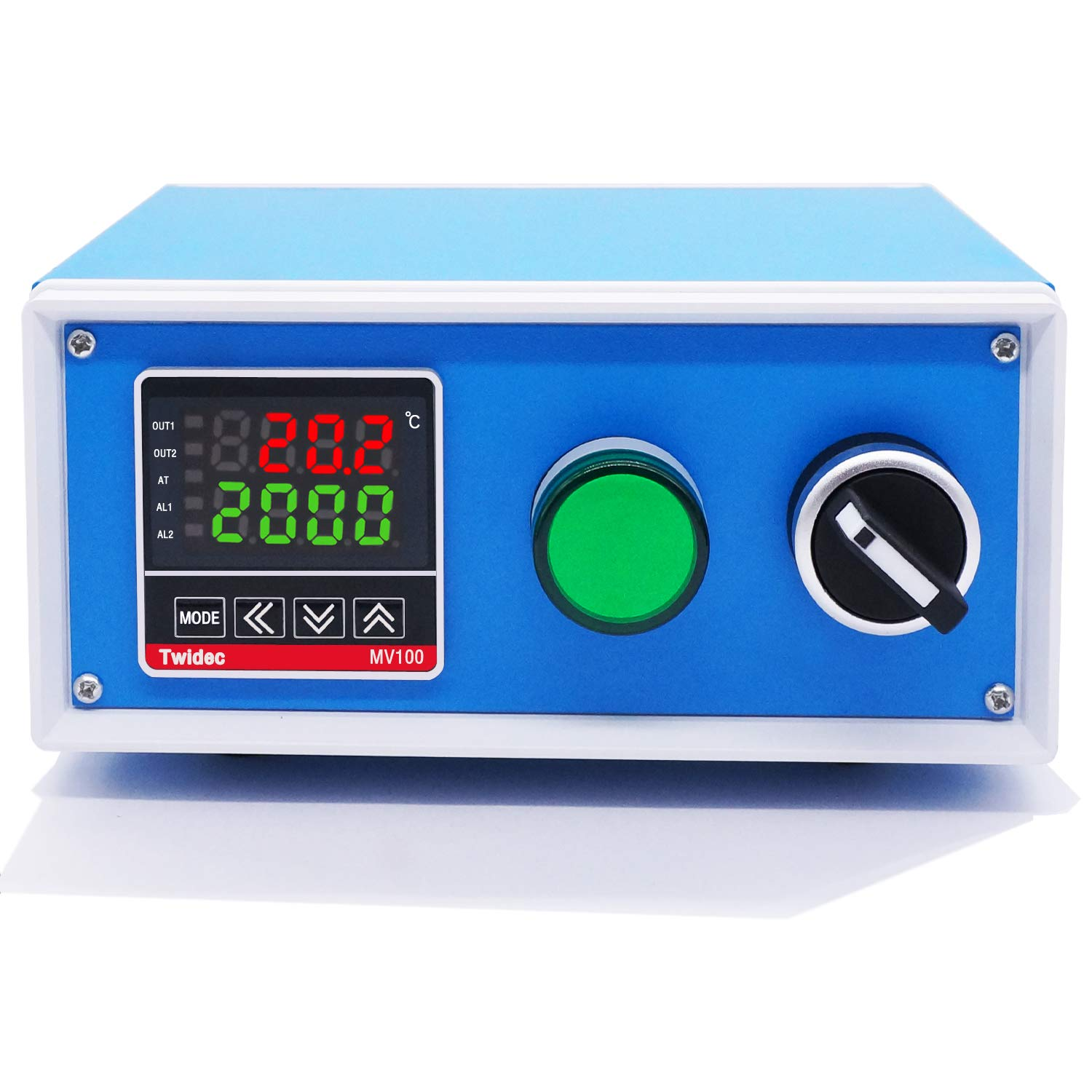 Twidec/Display PID Temperature Controllers Thermostat Box 1000W 10A 110V Temperature Temp Control Box with Solid State Relay SSR 40DA Oven Thermostatic Control Box: Industrial & Scientific