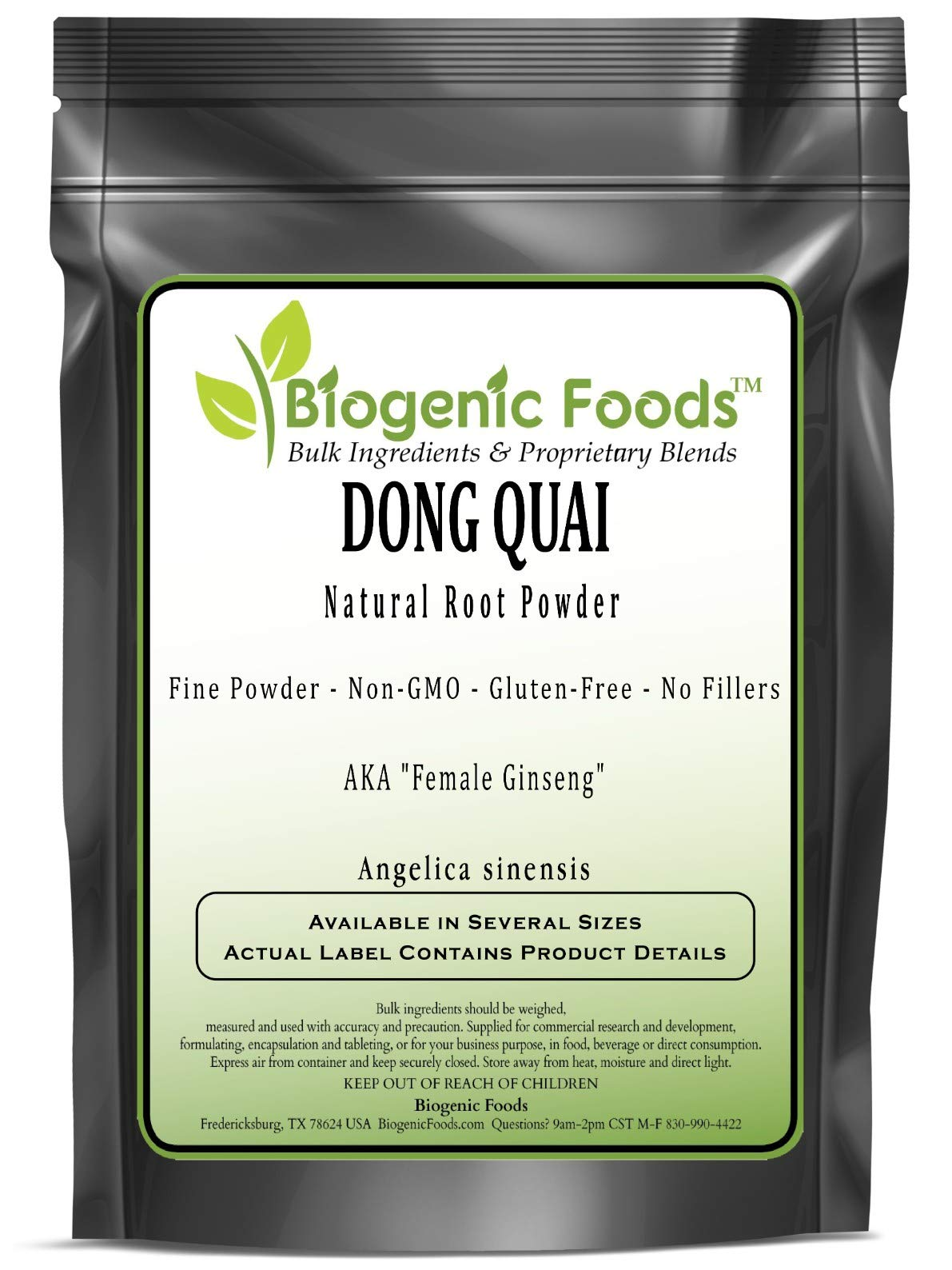 Dong Quai - Natural Root Fine Powder (Angelica sinensis), 5 kg