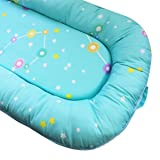 Hi Sprout Newborn All in One Baby Lounger, Portable Co-Sleeping Cribs & Cradles-Suit for 0-8 Months