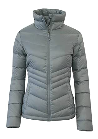 c185bce5ee1 Columbia Womens Polar Freeze Ski Down Winter Jacket Omni Heat (M, LIGHT GREY )