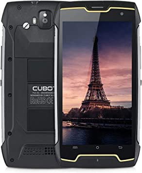 Cubot King Kong (2018) Android 7 Dual SIM Outdoor Smartphone sin ...