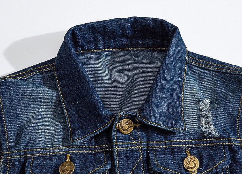 Jean Sans Blouson Veste Jeans En Homme Gilet Denim Manche xHpFqwcZ