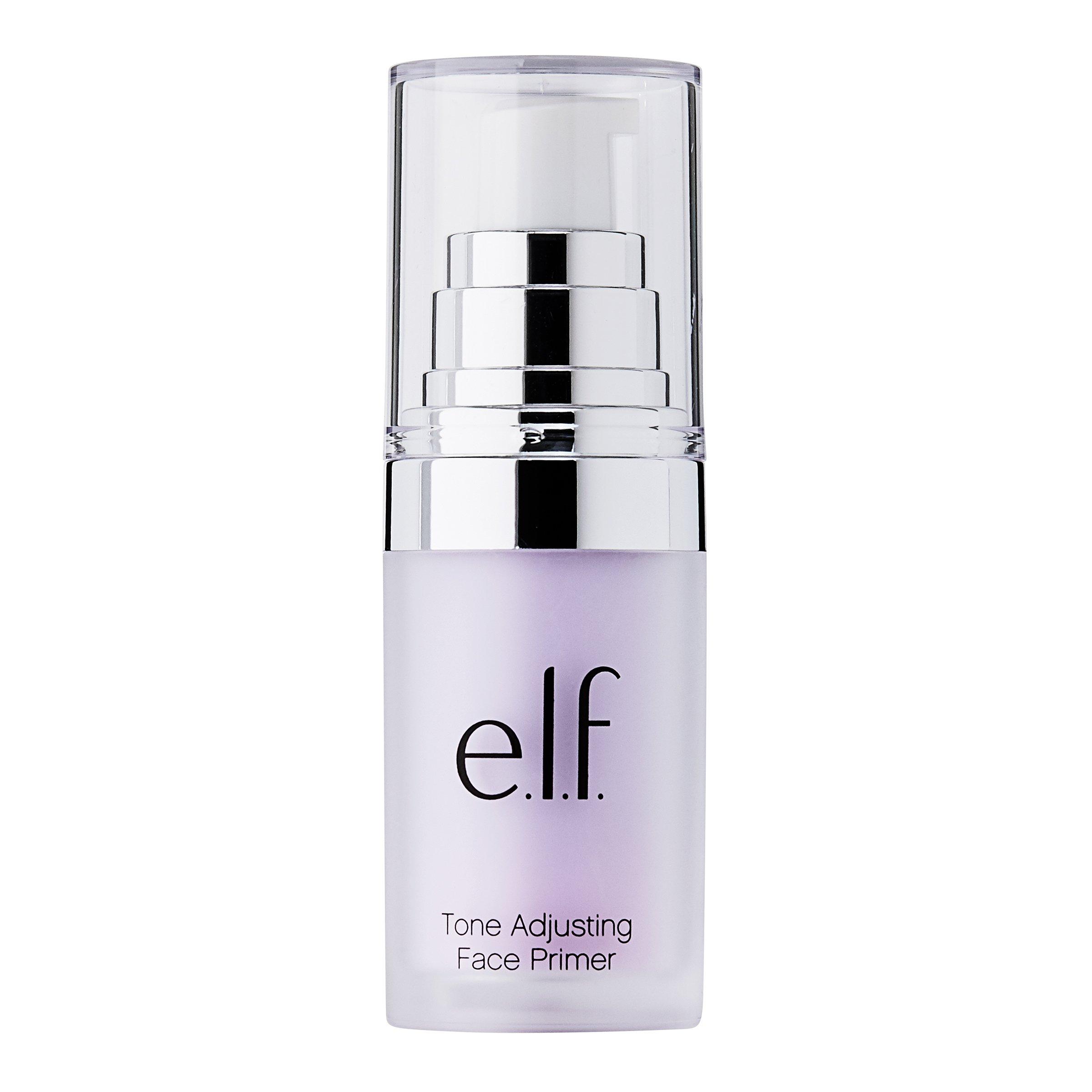 e.l.f. Studio Mineral Infused Face Primer, Brightening Lavender, 0.47 Ounce