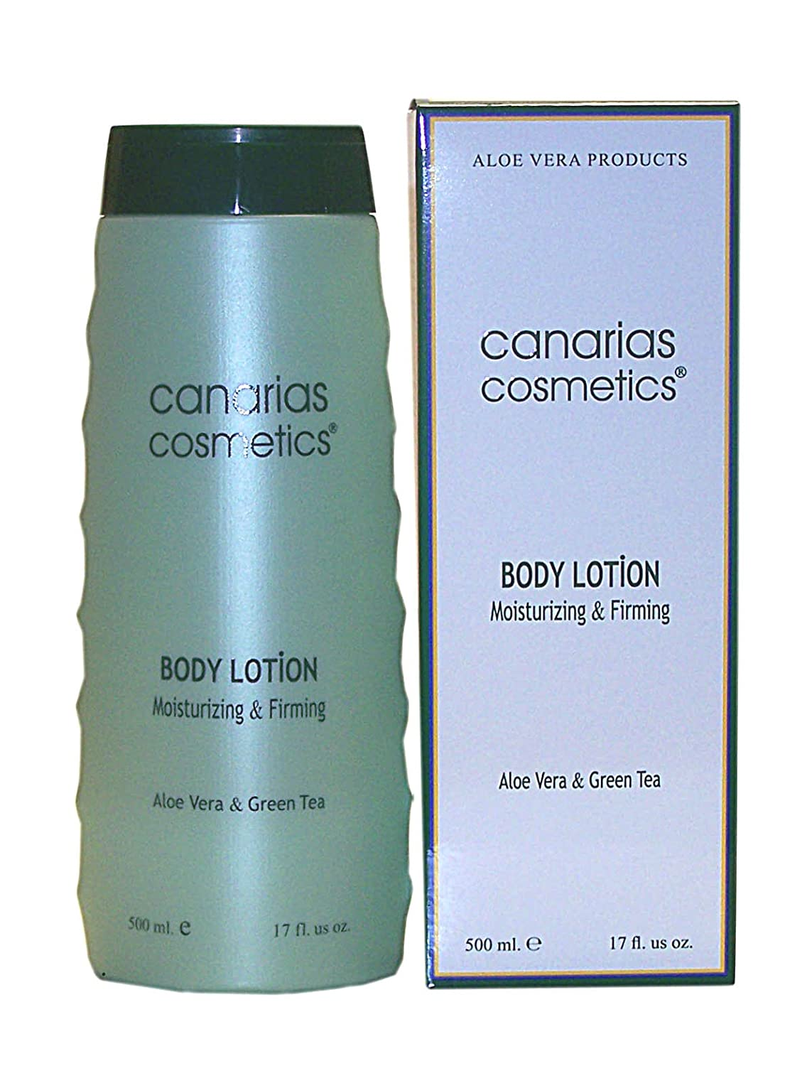 Canarias Cosmetics Dermo Aloe Body Lotion, 1er Pack (1 x 500 g) 210042