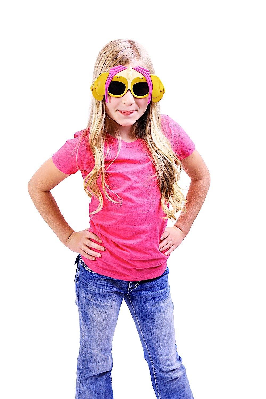 edb82c1b585 Amazon.com  Costume Sunglasses Paw Patrol Skye Sun-Staches Party Favors  UV400  Toys   Games