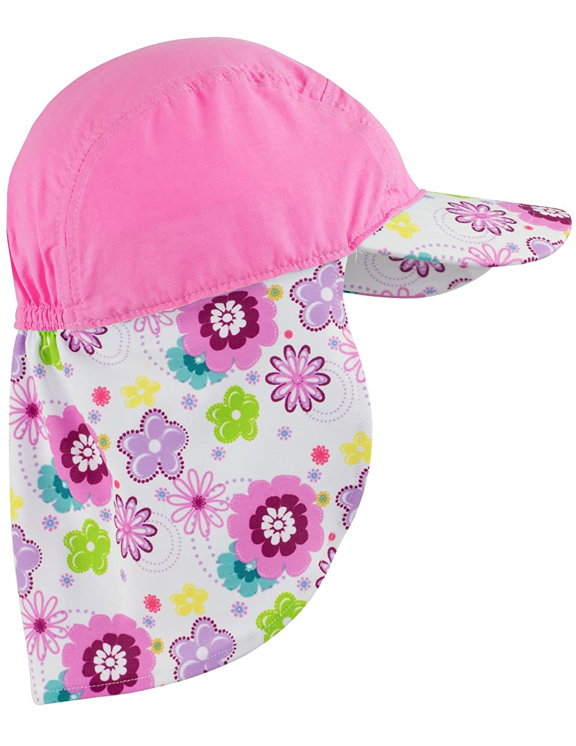 Poppyberry or Mallowberry Sun Protection Sun Busters Girls UV Legionnaire Hat 2-12 Years UPF50