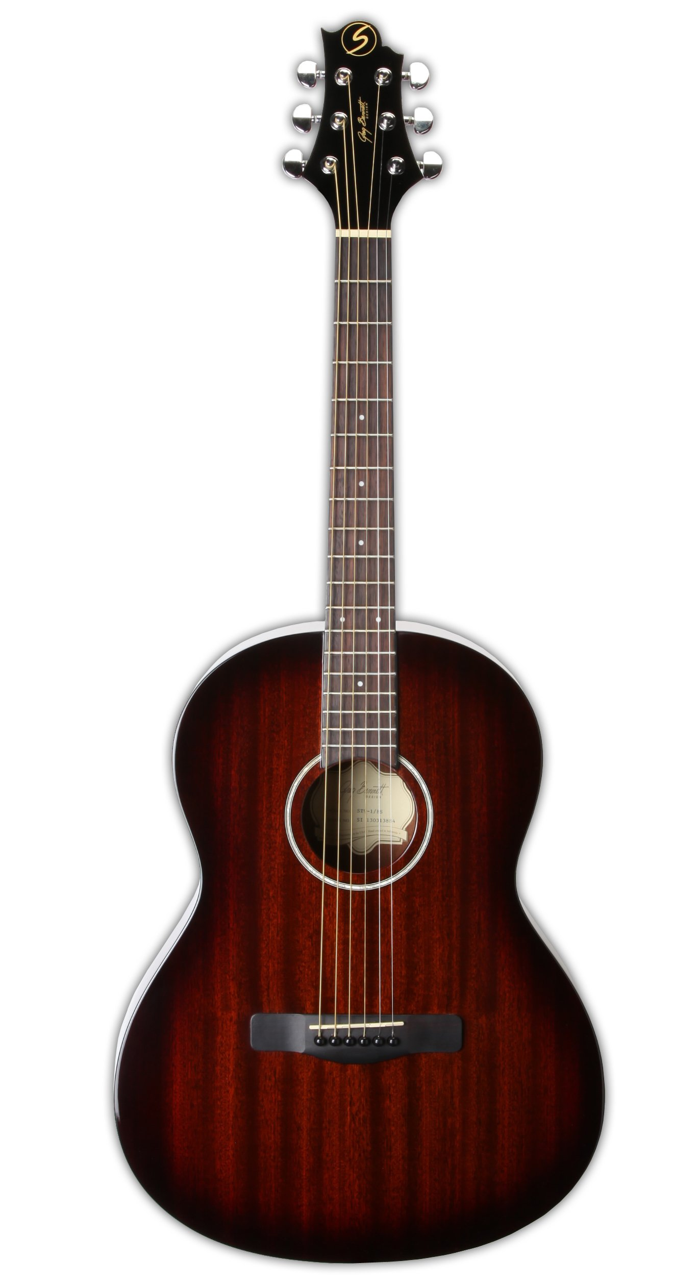 Greg Bennett Design Gold rush ST91 BS 39-Inch Folk Acoustic Guitar, Brown sunburst by Greg Bennett Design