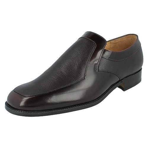 Grenson - Mocasines para hombre Rojo granate: Amazon.es: Zapatos y complementos