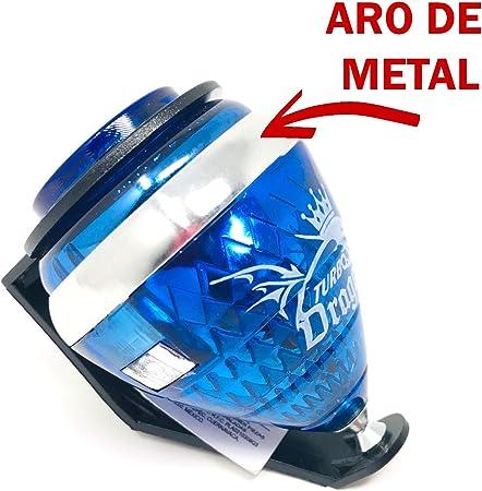 TROMPOS COMETA Peonza Turbo Dragon Original con Aro de Metal Versión Nueva 1 Unidad