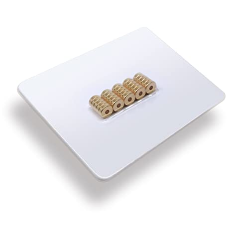 Sehr starke Neodym Ring Magnete Magnetringe Bohrung Büro Pinnwand Kühlschrank