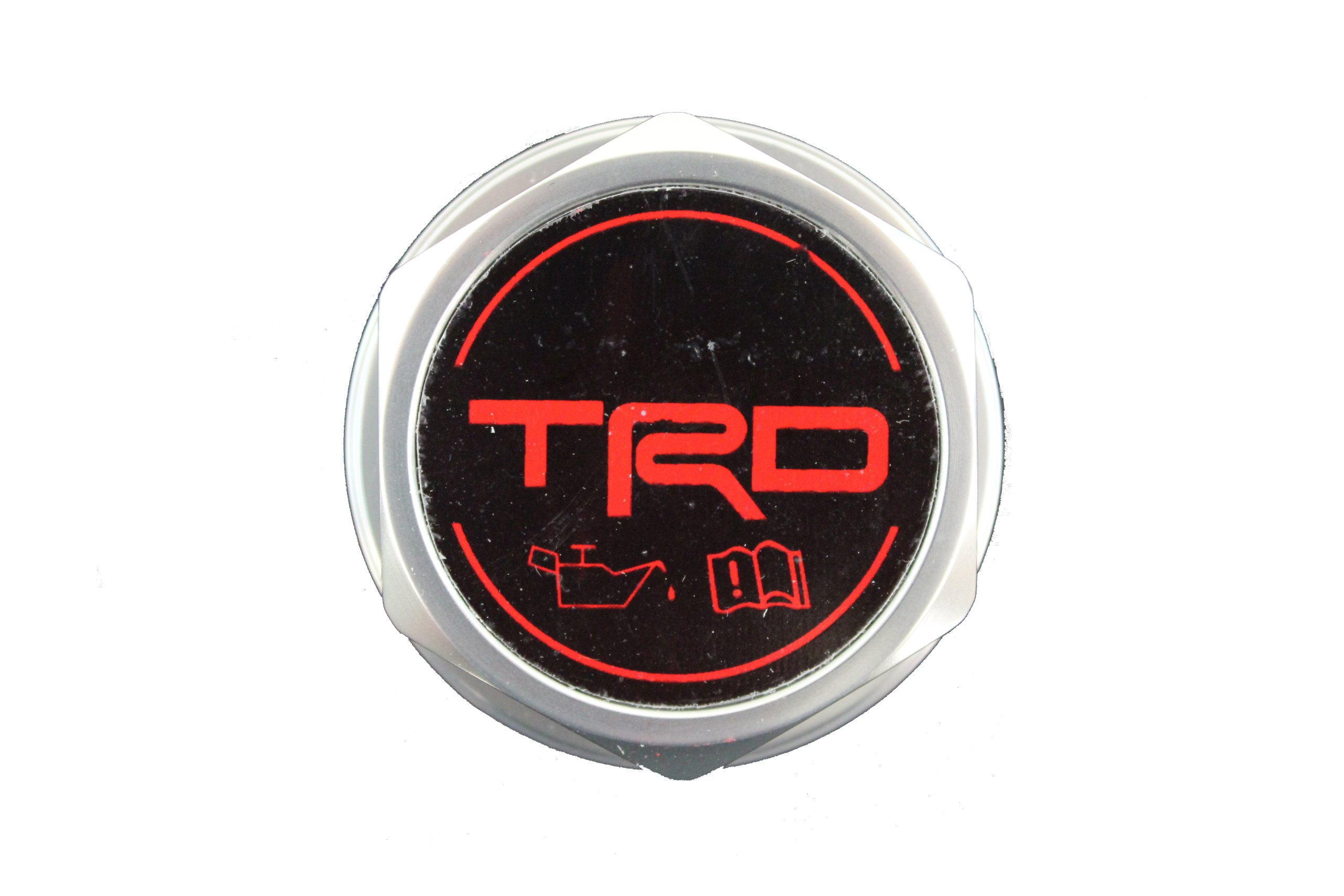 Genuine Toyota Accessories PTR35-00110 Forged Billet Aluminum TRD Oil Cap