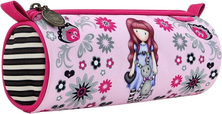 SANTORO GORJUSS Estuche Redondo Grande, Monedero Unisex Infantil, Rosa (Rosa), 8x12x21 cm (W x H x L): Amazon.es: Zapatos y complementos