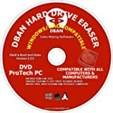 Professional Hard Drive Eraser DVD Stop Identity Theft Completely Wiped Out Personal Information, Passwords, Sensitive…