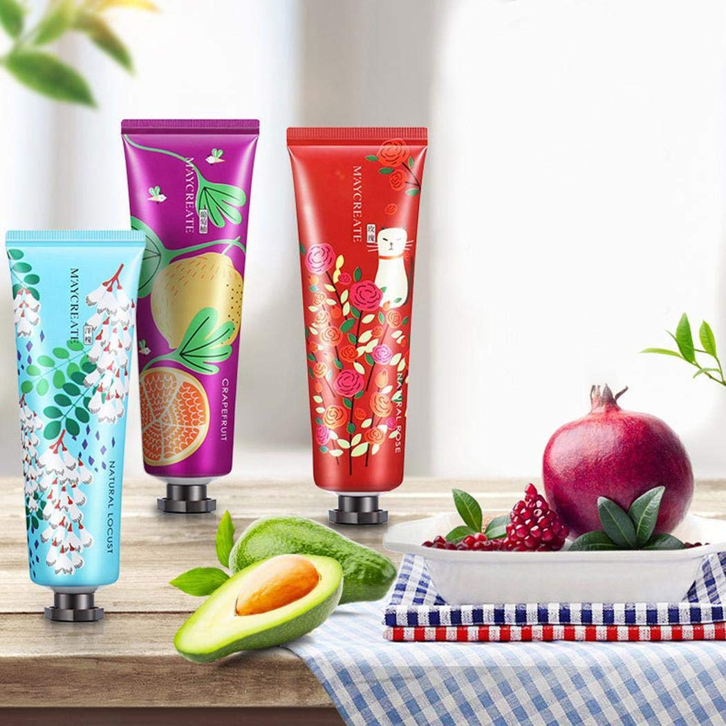 Biuday 30g Hand Cream, Suavizar Hidratación Hidratante Herbal Essence Hand Cream Manos y pies