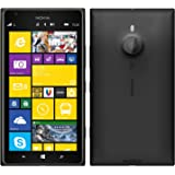 Digione Back Replacement Cover Panel Battery Cover Snap on Case Cover for Nokia Lumia 1520 Black