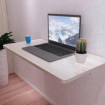 Mesa para niños Mesa de ordenador de madera Mesa de hojas abatibles Escritorio plegable Mesa de