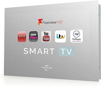 Waterproof Smart TV, 19 Inch Bathroom Smart TV: Amazon.es: Electrónica