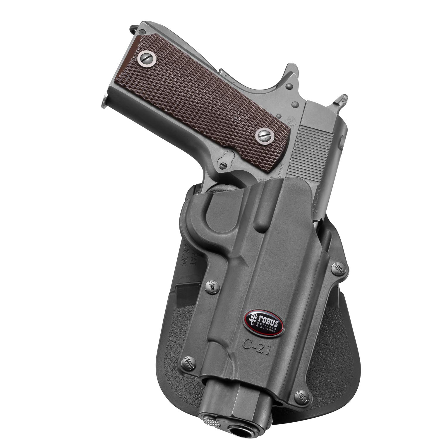 Fobus C-21 Paddle Halfter Fobus C-21 Paddle Colt 45/& 1911 Style,FN,High Power,Browning,Kimber