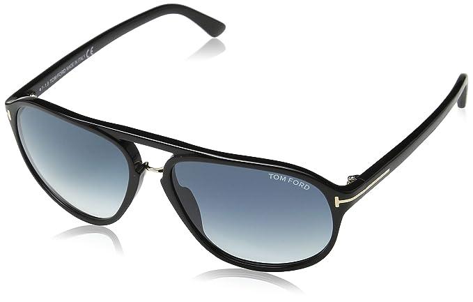 Amazon.com: Tom Ford anteojos de sol TF 447 Jacob anteojos ...