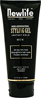 product image for Instant Hold Styling Gel, 6.7 oz - Protein Enriched - Strengthen Hair Roots with All Day Firm Hold