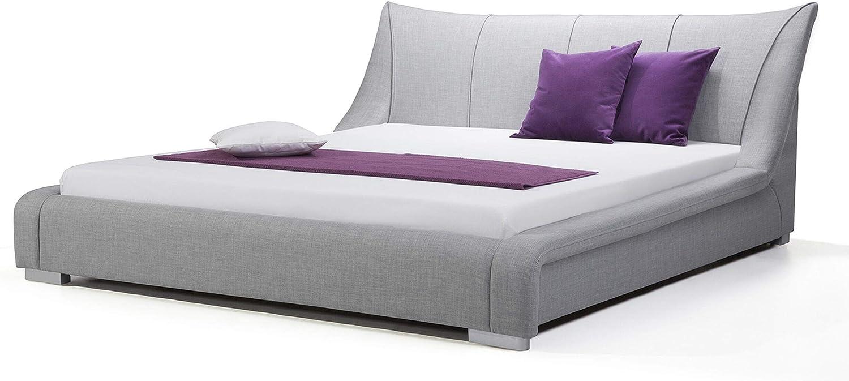 Beliani Cama tapizada - Super King Size - 180x200 cm - con ...