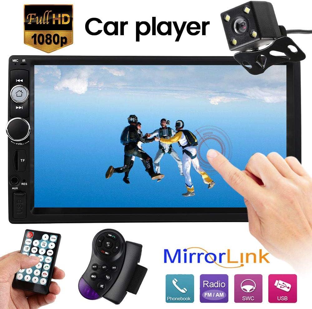 7 0 Inch Mp5 Play Car Double Din Radio Audio Bluetooth Elektronik