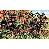 Italeri 6046S - Figuritas de infantería estadounidense a escala 1:72