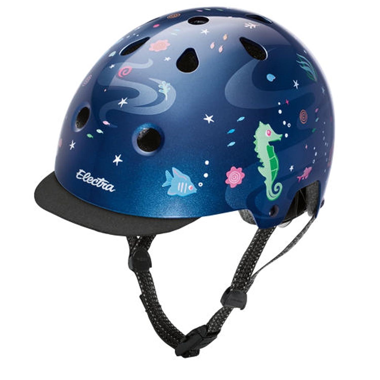 Electra Bike und Skate Helm 'Under The Sea' Helmet, Kopfumfang 48-54 cm