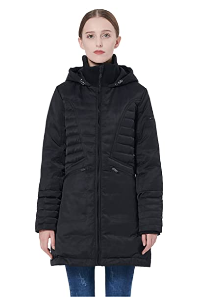Amazon.com: Orolay Puffer - Chaqueta de invierno con capucha ...