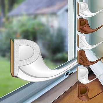 Proheim Fenster Dichtung Mit P Profil In Weiss 6 Meter Selbstklebende