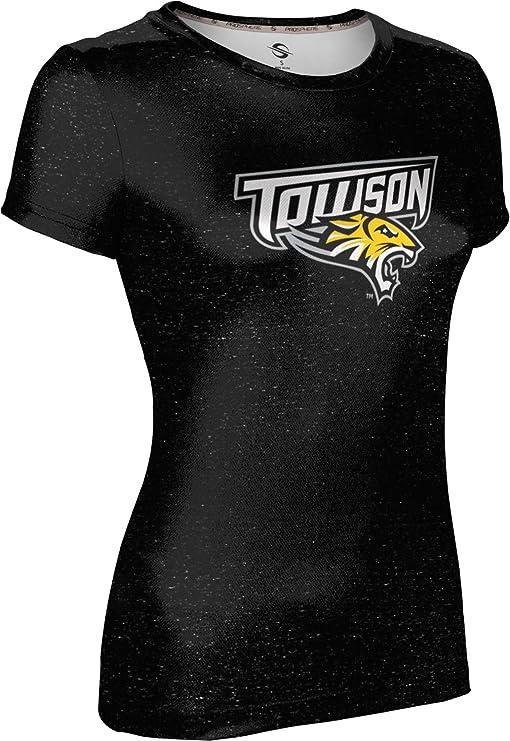 School Spirit Sweatshirt ProSphere Towson University Girls Zipper Hoodie Heather